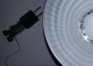 measuring reflector temperature
