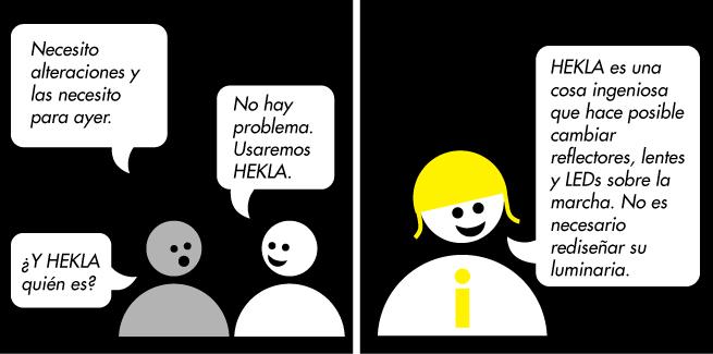 Con HEKLA ¡es posible!