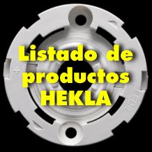 Listado de productos HEKLA