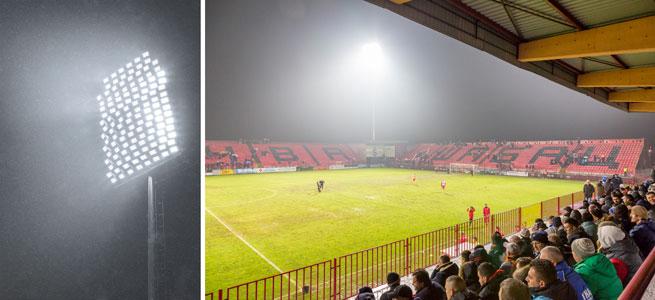 football stadium lighting case