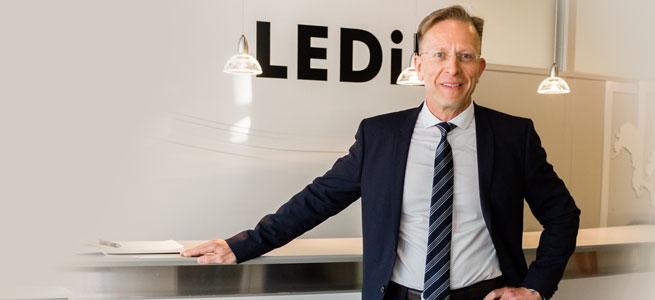 Jan Pettersson, new CFO of LEDiL