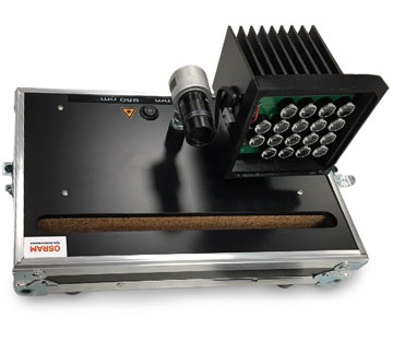 Osram CCTV product using LEDiL TINA LED optics