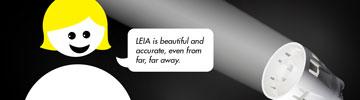 LEDiL LEIA for architectural LED lighting