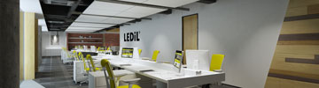 Read LEDiL office lighting article