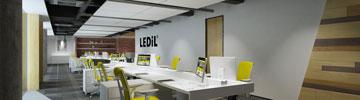 Read LEDiL office lighting article