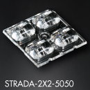 LEDiL new STRADA-2X2-5050 modules for flat 5050 size LED packages