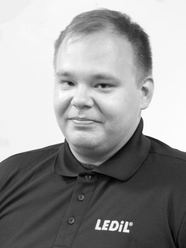 Sales contact Lauri Haarala