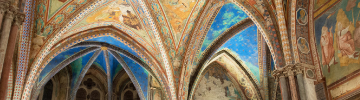 Read LEDiL case story of indoor architectural lighting in Basilica of San Francesco