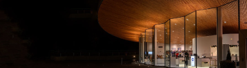 Read LEDiL case story of architectural indoor lighting at Fazer Visitor Centre
