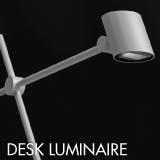 Desk luminaire example for office lighting