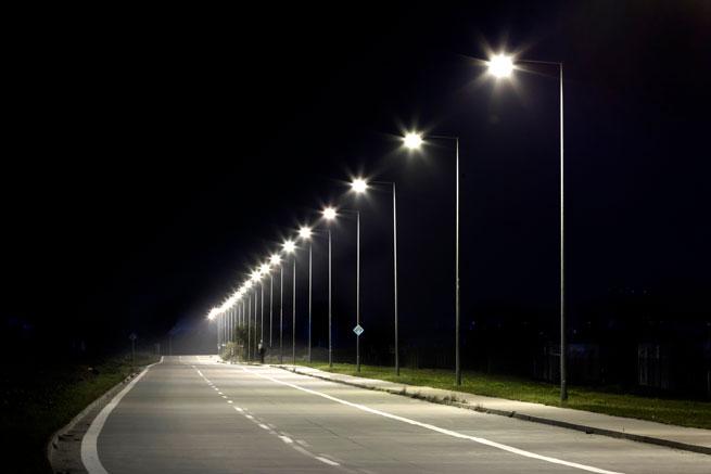 Cree streetlight using LEDiL STELLA-G2 optics