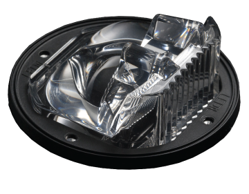 Cree uses LEDiL STELLA-G2 IESNA Type III optics in its streetlight luminaire