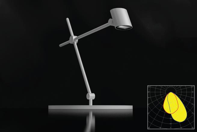 LEDiL desk luminaire example