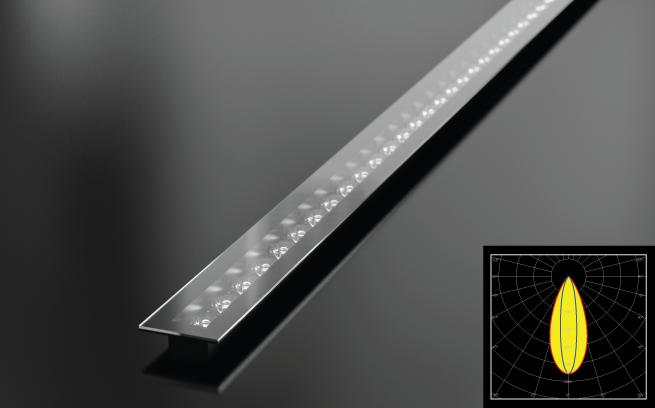 LEDiL linear wall grazer office lighting luminaire example