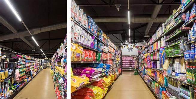 Supermarket lighting with LEDiL FLORENCE-1R-Z2T25 optics_04