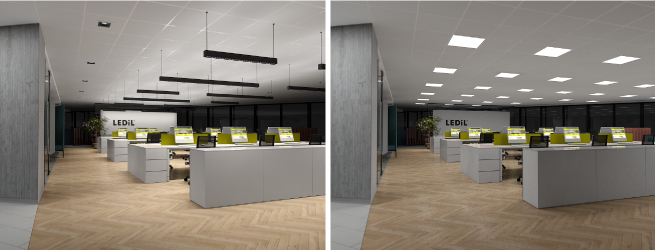 Four Office Lighting Concept Examples Sure To Shine Ledil News