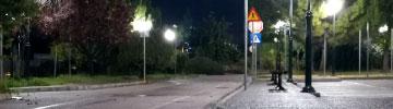 LEDiL ZORYA used in park lighting in Athens
