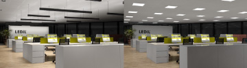 Read more about LEDiL office lighting concept examples