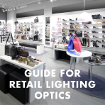 Guide for retail lighting optics