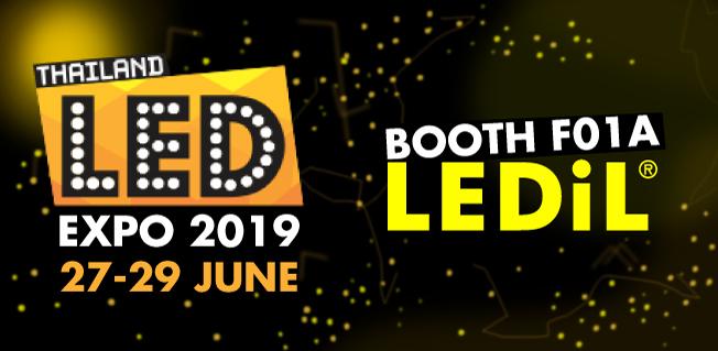 LEDiL at LED Expo Thailand 2019 booth F01A