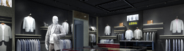 Read LEDiL case story of fashion retail lighting with DAISY optics