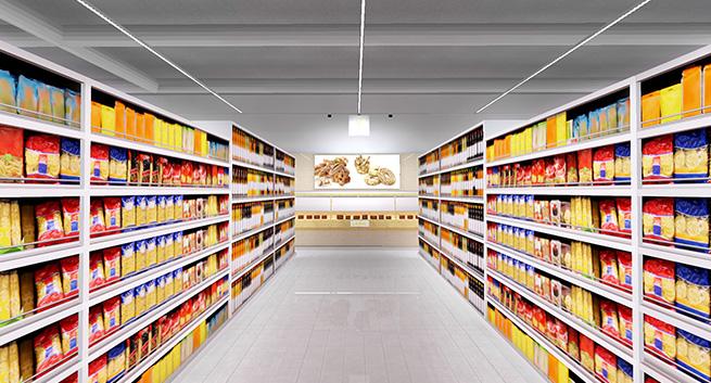 Ledil Optics The Best For Supermarket Lighting Solutions