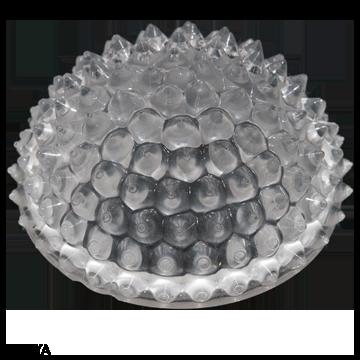 LEDiL ZORYA silicone optics used in Catellani and Smith ceiling lamp
