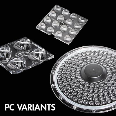 LEDiL new PC variants for street and high bay lighting