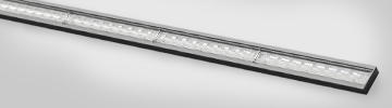 linear luminaire example with LEDiL LINNEA optics