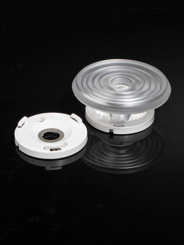 LEDiL optics compatible with Bender+Wirth COB holder hybrid 630 3Hook housing