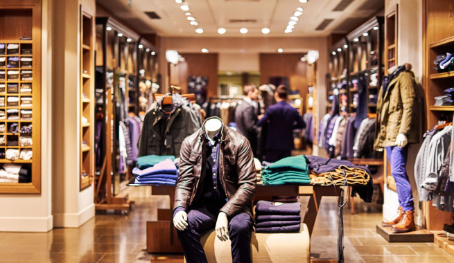 Key tips for effective fashion retail lighting with LED optics