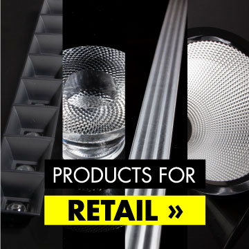 LEDiL LED optics for retail lighting