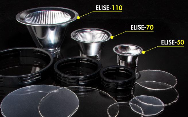 LEDiL easy connect reflector family ELISE for retail lighting
