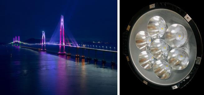 Toro System use LEDiL optics for bridge lighting