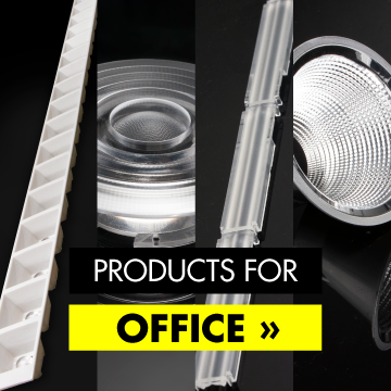 LEDiL LED optics for office lighting