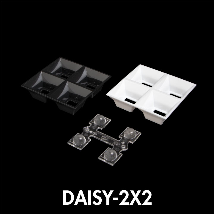 LEDiL DAISY-2X2 Dark Light optics