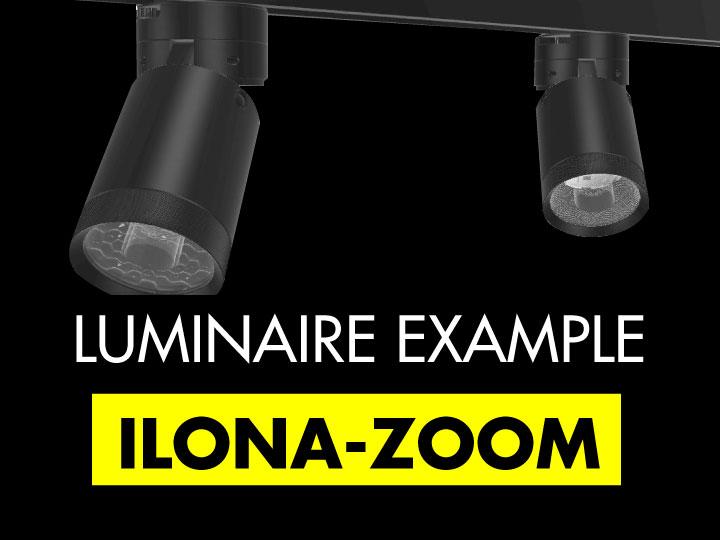 LEDiL ILONA-ZOOM luminaire example