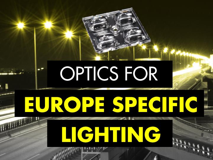 LEDiL Optics for Europe specific lighting