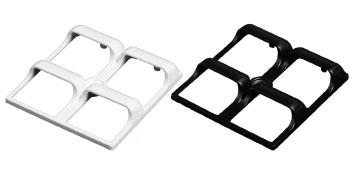 block backlight with LEDiL STRADA-2X2-SHD shades