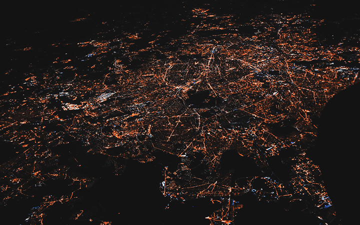 City_lights_from_satellite_view