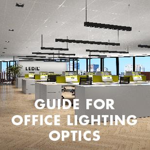 Guide for office lighting optics