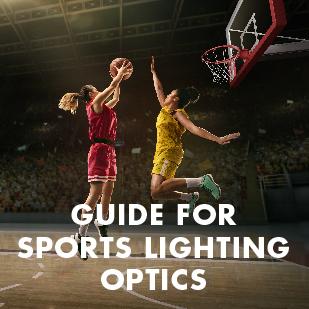 Guide for sports lighting optics