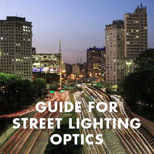 Guide for street lighting optics